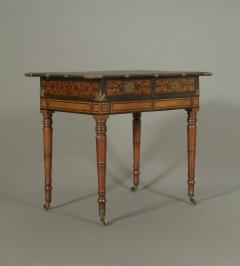 An Interesting Regency Mahogany Center Table In The Manner of George Bullock - 185849