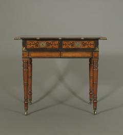 An Interesting Regency Mahogany Center Table In The Manner of George Bullock - 185859