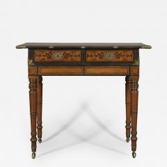 An Interesting Regency Mahogany Center Table In The Manner of George Bullock - 192162