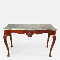 An Irish George II Mahogany Console Table - 365652