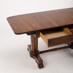 An Irish Regency rosewood sofa table circa 1830 - 1646868