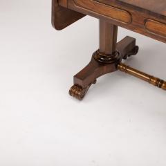 An Irish Regency rosewood sofa table circa 1830 - 1646870