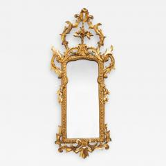 An Italian carved gilt wood pier mirror - 2046481