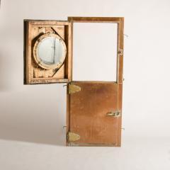 An Italian copper Dutch door circa 1930 with brass hinges Two doors - 1681096