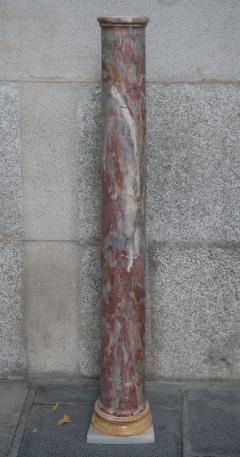 An Italian marble column Italy XIXth century - 776628
