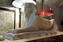 An Italian stone sphinx Italy XIXth century - 776571