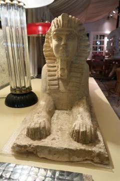An Italian stone sphinx Italy XIXth century - 776575