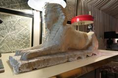 An Italian stone sphinx Italy XIXth century - 776577