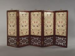 An Mahogany Brass Mounted Five Fold Screen Possibly from the Tuileries Palace - 1846827