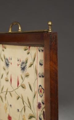 An Mahogany Brass Mounted Five Fold Screen Possibly from the Tuileries Palace - 1846830