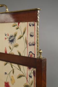 An Mahogany Brass Mounted Five Fold Screen Possibly from the Tuileries Palace - 1846831