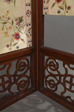 An Mahogany Brass Mounted Five Fold Screen Possibly from the Tuileries Palace - 1846834
