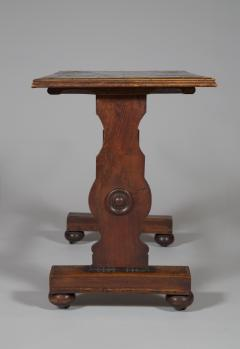 An Oak Rectangular Center Table With Parquetry Top Constructed Of Ship Timbers - 635238