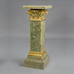 An Onyx Pedestal With A Revolving Top - 975214
