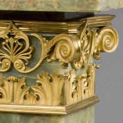 An Onyx Pedestal With A Revolving Top - 975216