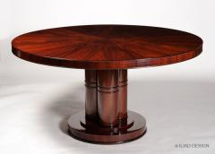 An Outstanding Art Deco Inspired Dining Table by Iliad Design - 453751