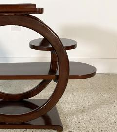 An Unusual French Late Art Deco Mahogany Occasional Table - 1675296