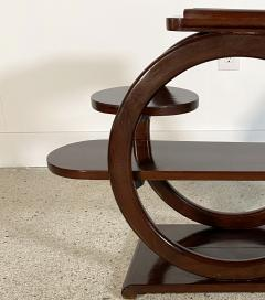 An Unusual French Late Art Deco Mahogany Occasional Table - 1675297
