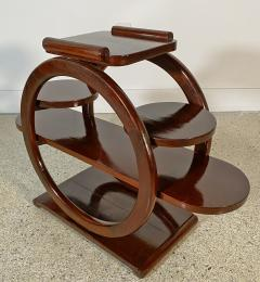 An Unusual French Late Art Deco Mahogany Occasional Table - 1675298