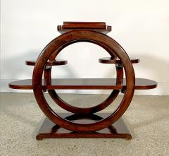 An Unusual French Late Art Deco Mahogany Occasional Table - 1675299