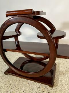 An Unusual French Late Art Deco Mahogany Occasional Table - 1675300