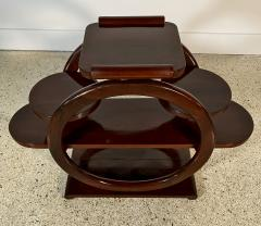 An Unusual French Late Art Deco Mahogany Occasional Table - 1675301