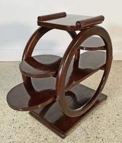 An Unusual French Late Art Deco Mahogany Occasional Table - 1675302