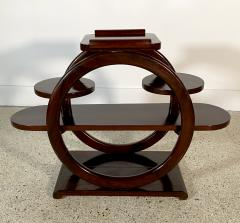 An Unusual French Late Art Deco Mahogany Occasional Table - 1675303