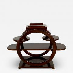 An Unusual French Late Art Deco Mahogany Occasional Table - 1693475