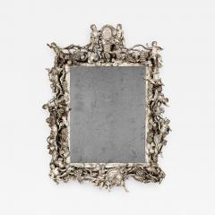 An early 18th century Italian carved mirror - 937931