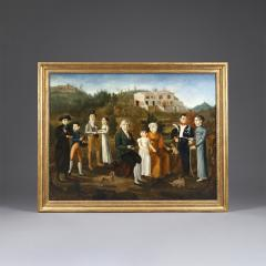 An early 19th century French family portrait - 931078