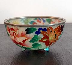 An early Japanese Plique a jour bowl from Nagoya - 1041071