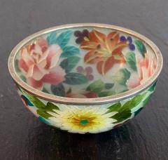 An early Japanese Plique a jour bowl from Nagoya - 1041074