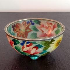 An early Japanese Plique a jour bowl from Nagoya - 1041075