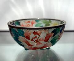 An early Japanese Plique a jour bowl from Nagoya - 1041076
