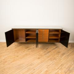 An ebonized French sideboard with marble top circa 1950 - 2033623