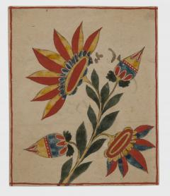 An extraordinary group of seven fraktur from Bucks County PA - 1467193
