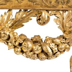 An imposing Victorian gilt wood console table in the manner of William Kent - 1793592