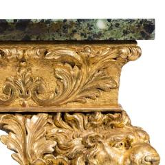 An imposing Victorian gilt wood console table in the manner of William Kent - 1793594