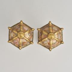 An ornamental pair of miniature 19th Century Japanese Satsuma lanterns - 1582481