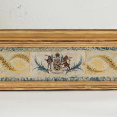 An unusual Nelson commemorative mirror c1815 - 1084201