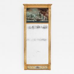 An unusual Nelson commemorative mirror c1815 - 1084356
