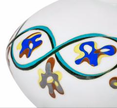 An unusual Showa period cloisonn vase - 1163148
