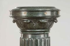 An unusual pair of Victorian marble revolving topped pedestals - 772663