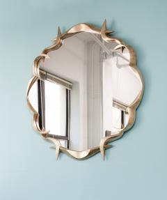 Anasthasia Millot Bronze Gilded Mirror by Anasthasia Millot - 164127