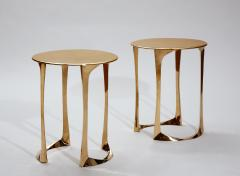 Anasthasia Millot Bronze Side Tables by Anasthasia Millot - 242670