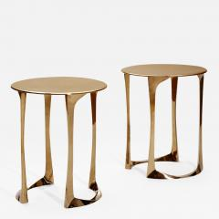 Anasthasia Millot Bronze Side Tables by Anasthasia Millot - 243254