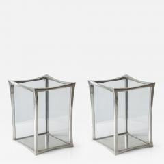 Anasthasia Millot Pair of Lanterns in Silvered Bronze by Anasthasia Millot - 286102
