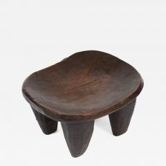 Ancient African Wooden Stool - 1137887