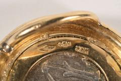 Ancient Coin and Gold Slide - 1612884